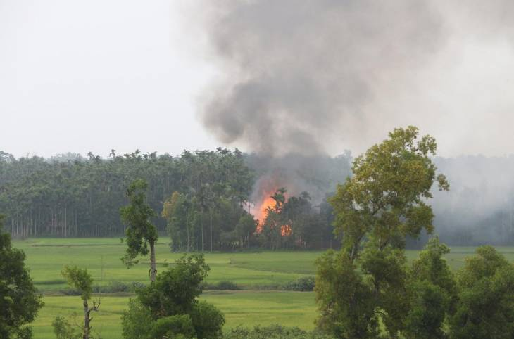 Myanmar's government, the Rakhine crisis and media access