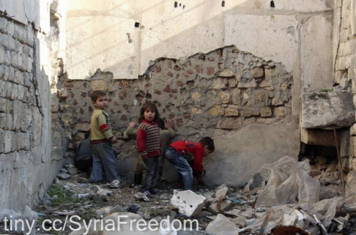 Damning report says Syria situation should be referred to ICC