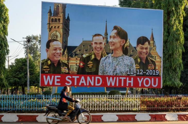 """Does """"the lady doth protest"""" mark the beginning of Myanmar's reckoning?"""