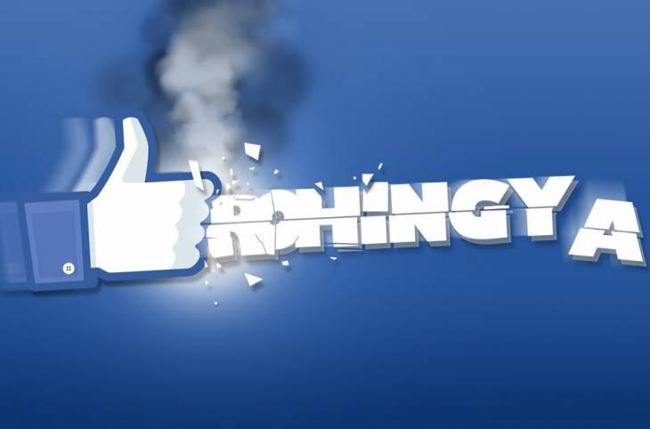 Liking genocide on Facebook