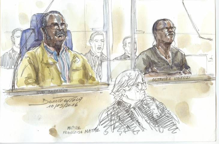 La semaine de la justice transitionnelle ; juger le génocide rwandais en France
