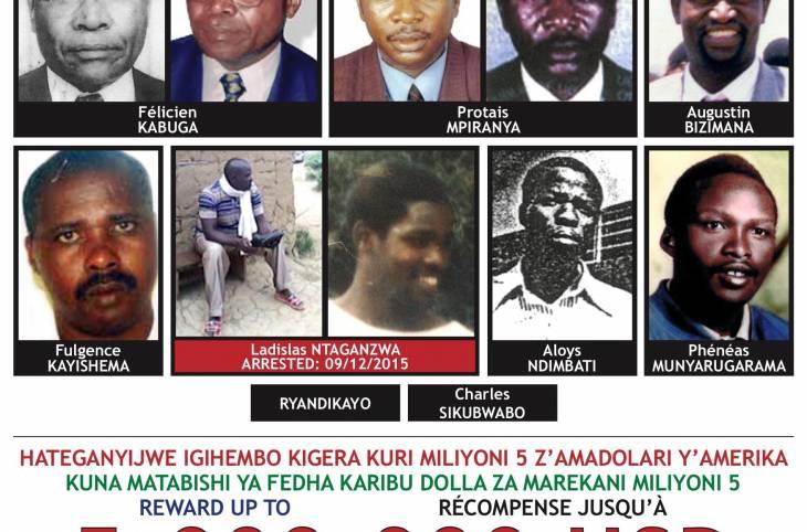Génocide au Rwanda: arrestation en RDC d'un des 9 accusés recherchés par le TPIR