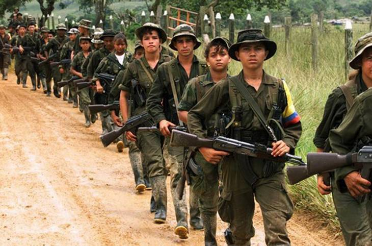 Colombians pressure FARC into admitting child soldiers