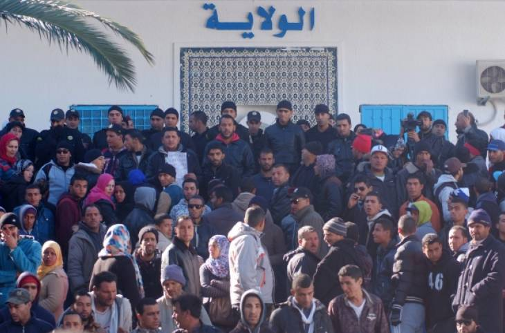 """Only """"Short-Term Policies to Contain Anger"""" in Protesting Tunisian Region"""