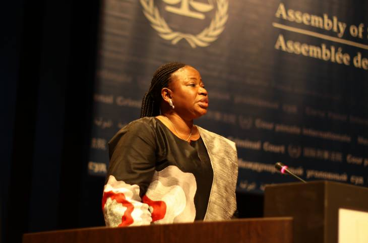 """""""As a human rights activist, I do feel frustrated sometimes"""" says ICC prosecutor Fatou Bensouda"""