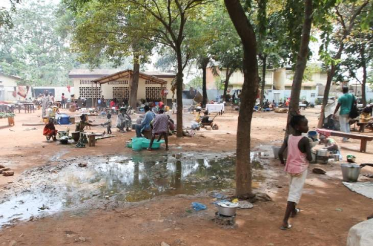 CENTRAL AFRICAN PARLIAMENTARIANS MARCH AGAINST VIOLENCE