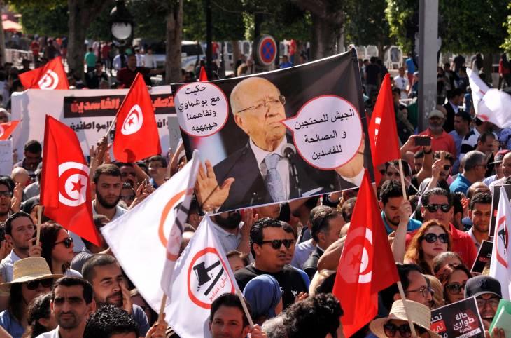 La semaine de la justice transitionnelle  : lutte surprise contre la corruption en Tunisie